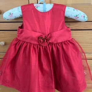 Other - Little Red Dress Sz 18 mos